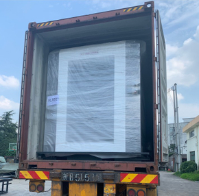 YB-1650E Automatic Flute Laminating Machine delivery to Italian customer